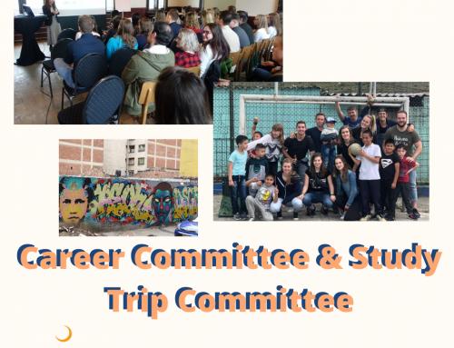 Committee Market: Career Committee & Study Trip Committee