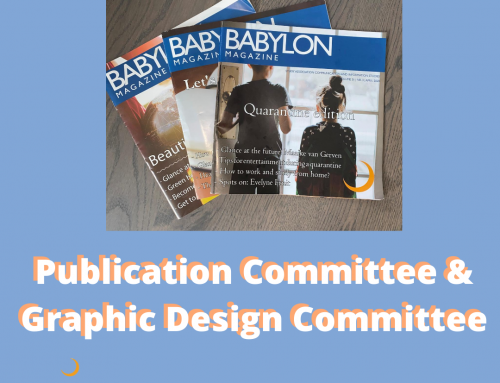 Committee Market: Publication Commitee & Graphic Design Committee
