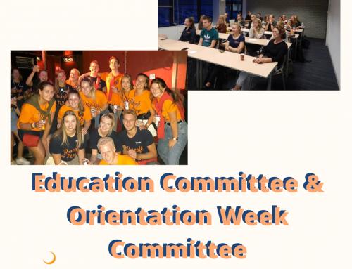 Committee Market: Education Committee & Orientation Week Committee