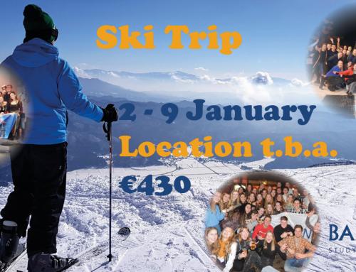 Update Ski Trip: Cancelation